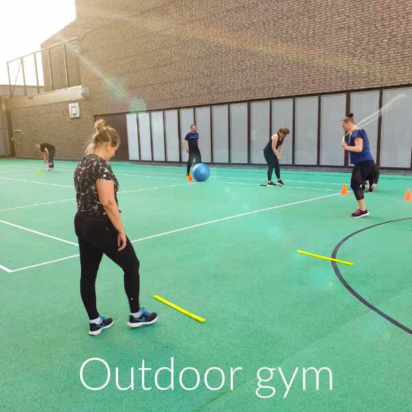 Fithealth outdoor gym